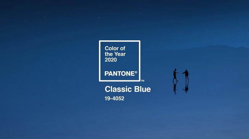 kolor roku 2020 classic blue