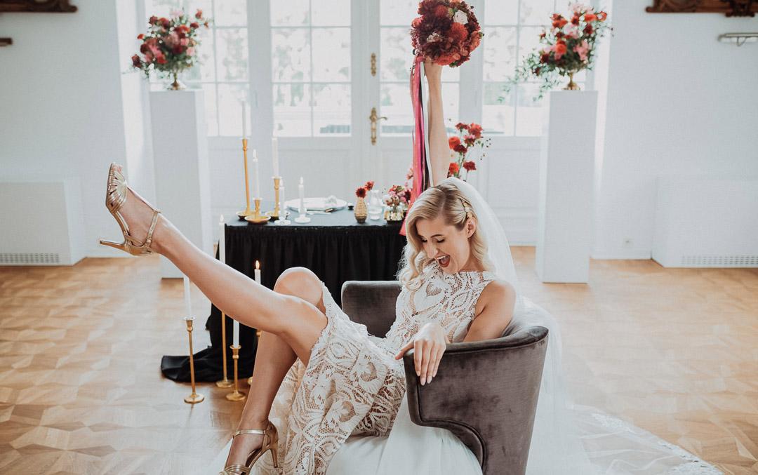 Bukiet ślubny dekoracje ślubne