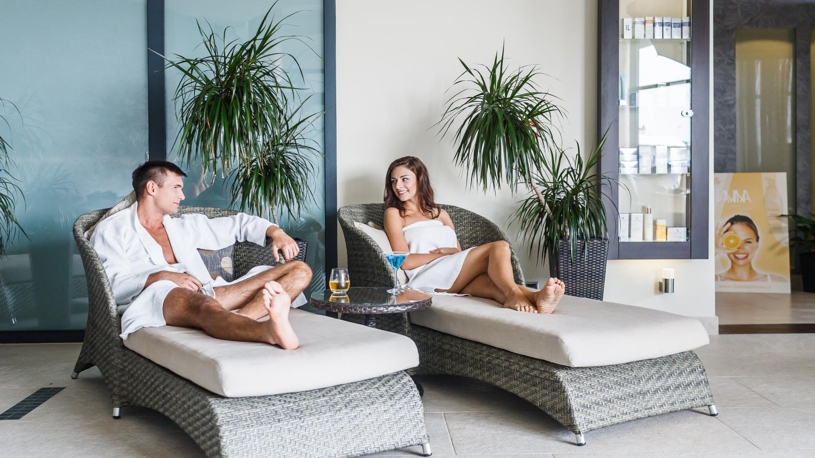 Hotel Blue Diamond strefa relaksu