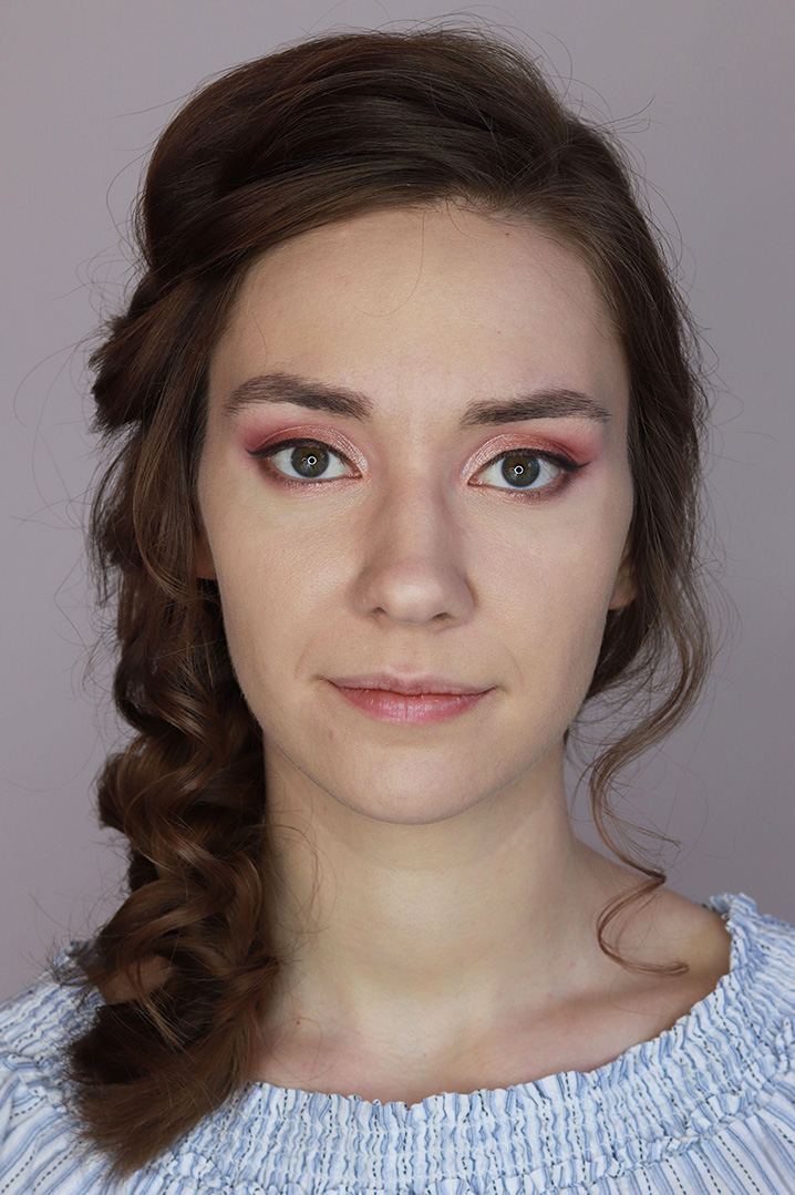 makijaż ślubny dla brunetek