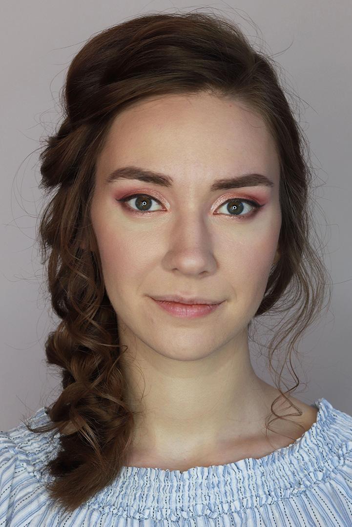 makijaż ślubny dla brunetki