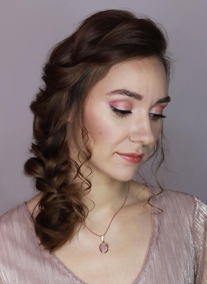 makijaż ślubny przed po