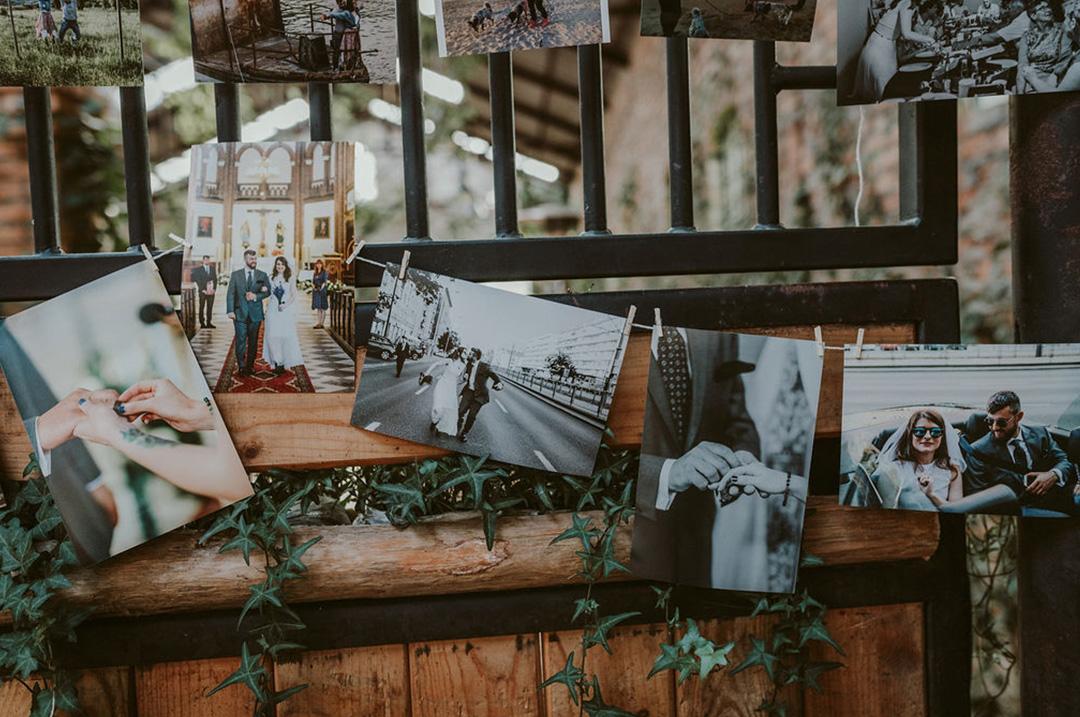 wesele zdjęcia na spinaczach