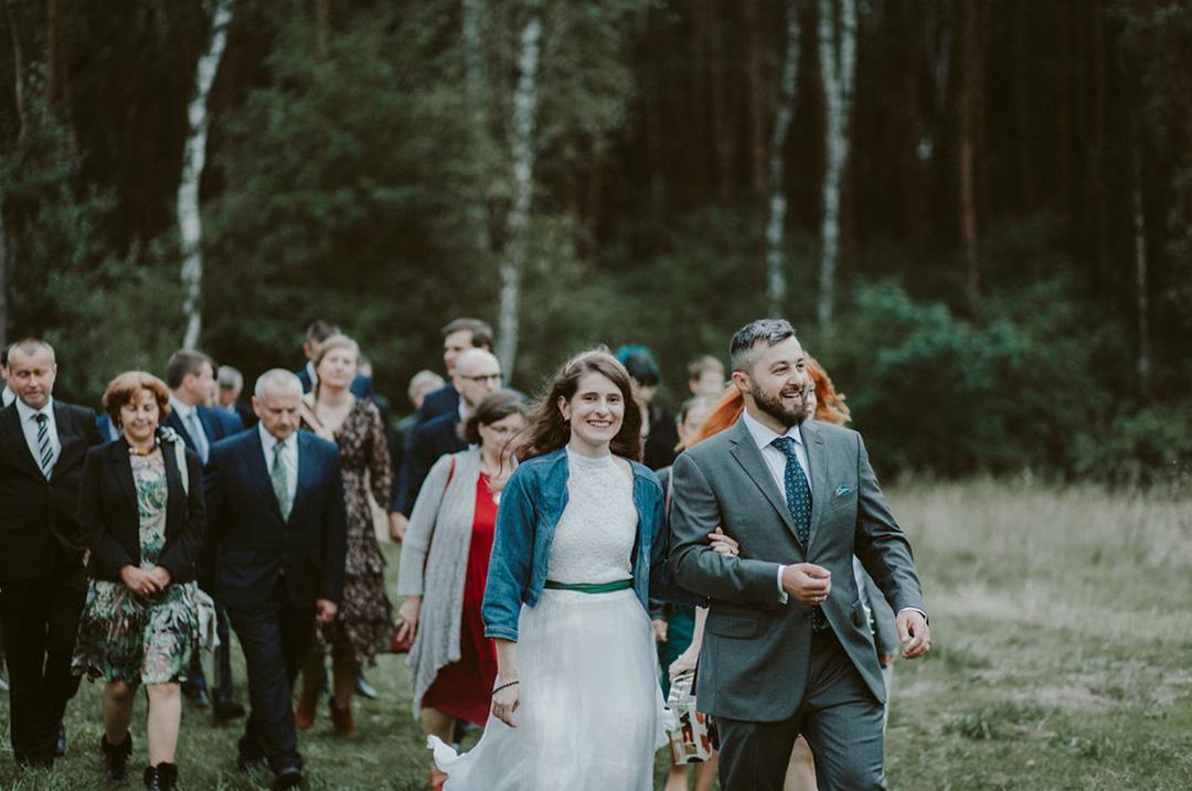 małe wesele w plenerze